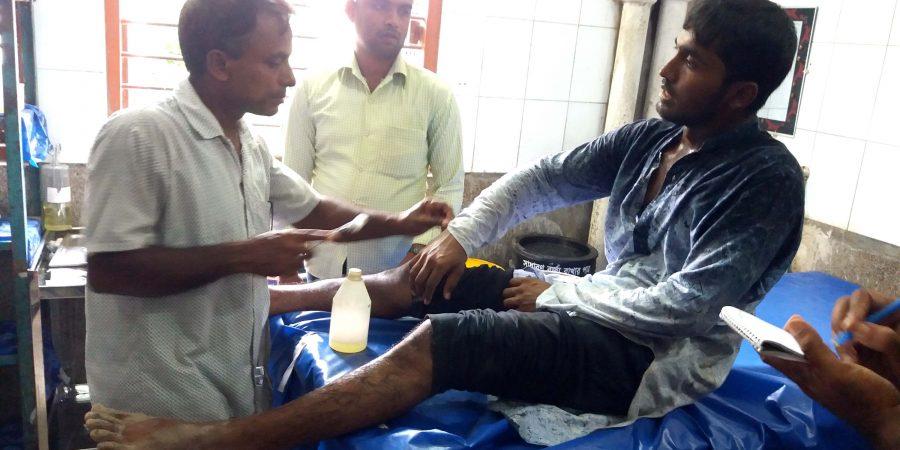 Magura sadar thana Sibir Sovapoti arrest Pic