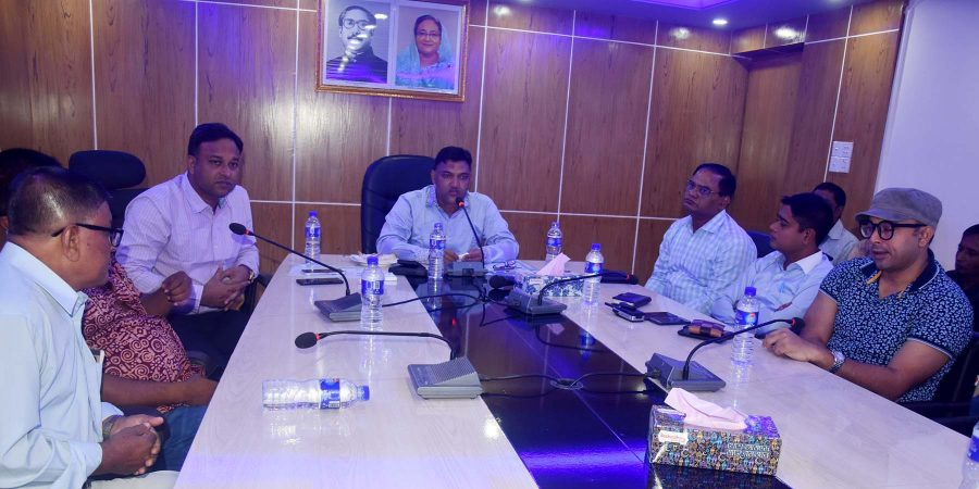 Magura Kishore Oporadh Meeting pic