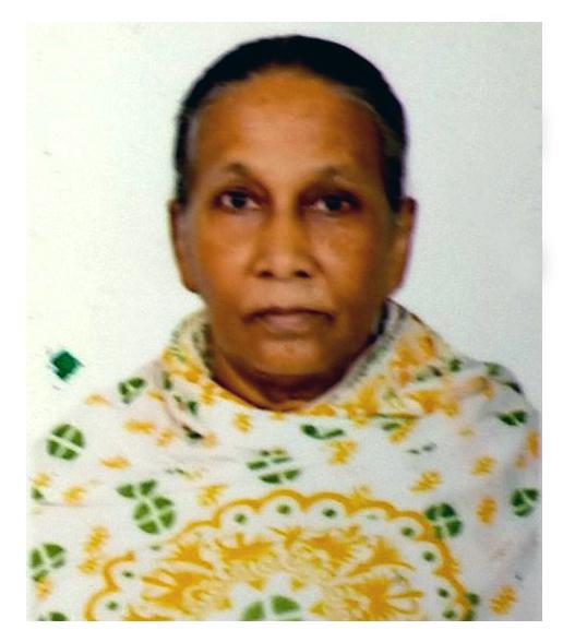 মোসাঃ জাহানারা খাতুন বিজিবি কর্মকর্তা বীর মুক্তিযোদ্ধা গোলাম সরওয়ার এর স্ত্রী
