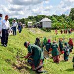 Magura Mohammadpur LGED pic , 01-10-2020