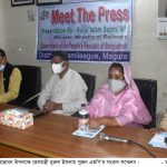 Magura Press Breefing of Rail Minister